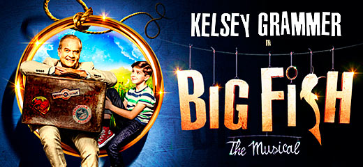 Big Fish The Musical + 2 Course Dinner