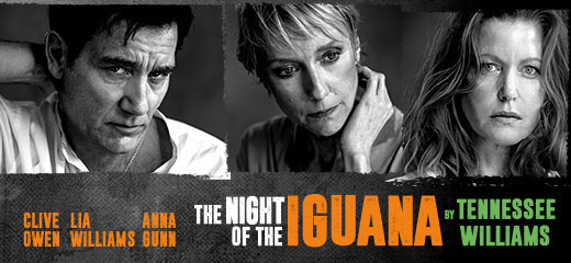 The Night Of The Iguana + 2 Course Post-Theatre Dinner at The Ivy