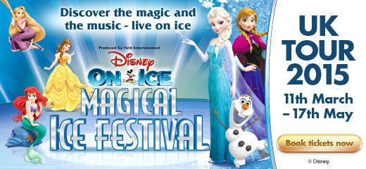 Disney On Ice Magical Ice Festival Aberdeen Aecc Arena Tickets