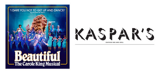 Beautiful - The Carole King Musical + 2 Course Pre-Theatre Dinner at Kaspar's at The Savoy