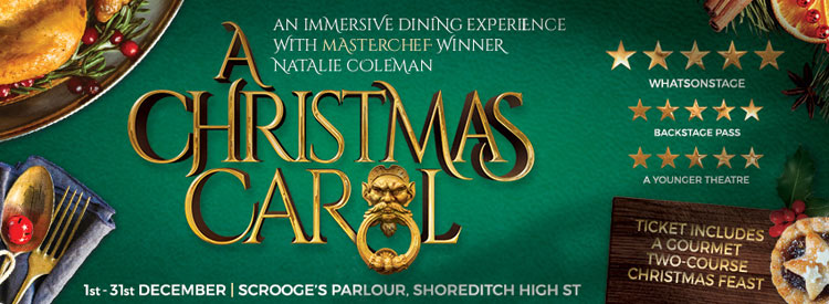 6b846618d491b A Christmas Carol at Scrooge s Parlour + 2 Course Christmas Feast Tickets