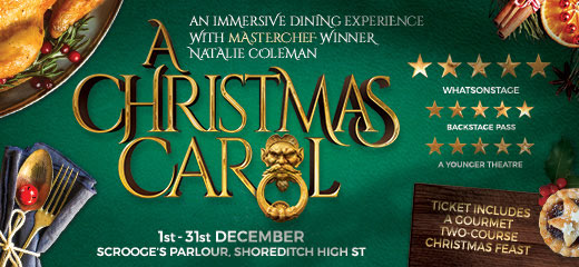 A Christmas Carol at Scrooge's Parlour + 2 Course Christmas Feast