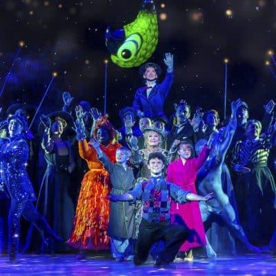 Mary Poppins production shot