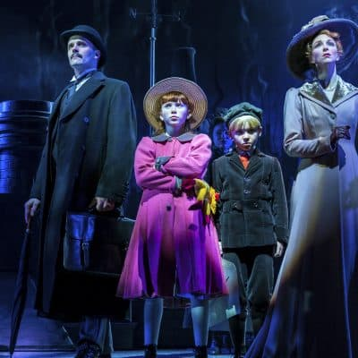 Mary Poppins production shot