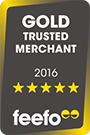 Gold Trusted Merchant 2016 - Awarded to LOVE Theatre