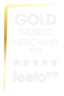 Gold Trusted Merchant 2013 - Awarded to LOVE Theatre